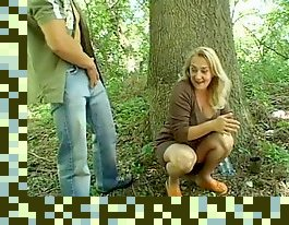 mature fucks in the woods